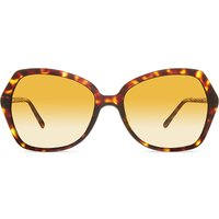 Burberry B4193 Havana polarised sunglasses, Women's, 3002t5brown
