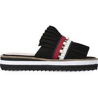 Madamme suede slide sandals