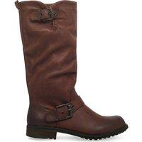 Miss Kg Winter knee-high boots, Women's, Size: EUR 37 / 4 UK WOMEN, Brown
