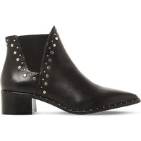 Doruss sm leather studded ankle boots