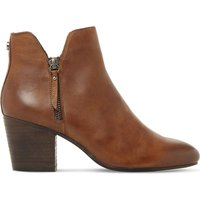 Winner leather ankle boots