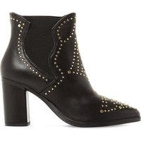 Himmel sm studded leather ankle boots