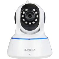 HOSAFE 720P 1MP Wireless Security IP Camera - White (US Plugsss)