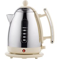 Dualit 1.5 Litre Cordless Jug Kettle Stainless Steel/Cream
