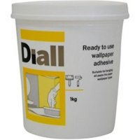 b&q all purpose ready to use wallpaper adhesive 1kg