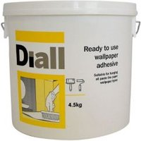 b&q all purpose ready to use wallpaper adhesive 4.5kg