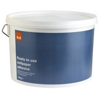 b&q all purpose ready to use wallpaper adhesive 10kg