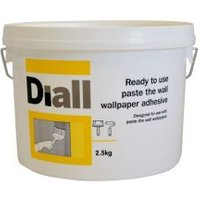 diall paste the wall ready to use wallpaper adhesive 2.5kg