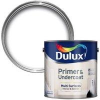 Dulux White Most Surfaces Primer & Undercoat 2.5L