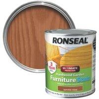 Ronseal Hardwood Natural Cedar Hardwood Garden Furniture Stain 0.75L