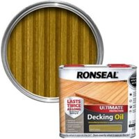 Ronseal Ultimate Natural Decking Oil 2.5L