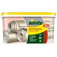solvite all purpose ready to roll wallpaper adhesive 9kg
