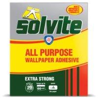 solvite all purpose wallpaper adhesive 1.140kg