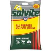 solvite all purpose wallpaper adhesive 95g