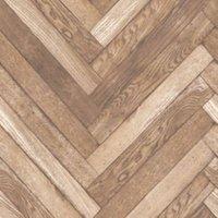 fine décor parquet wood plank natural wallpaper