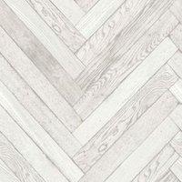 fine décor parquet wood plank white wallpaper
