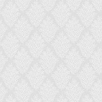 graham and brown elinor dove grey house motif wallpaper