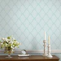 fresco duck egg elinor wallpaper