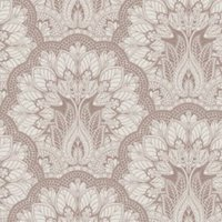 superfresco easy peacock damask rose gold effect wallpaper