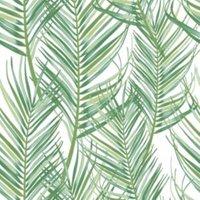 superfresco easy jungle fever green leaves matt wallpaper