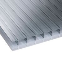 Heatguard Opal Multiwall Polycarbonate Roofing Sheet 6M x 700mm  Pack of 5