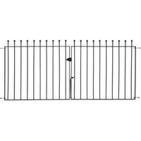 Metpost Metal Ball Top Gate (H)0.9M (W)0.142 M