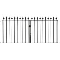 Metpost Metal Spear Top Gate (H)0.935M (W)9.75 M