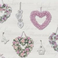 holden décor gracie dove floral glitter highlight wallpaper