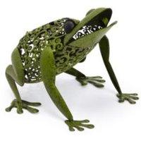 Smart Solar Green Silhouette Frog Solar Powered LED Decorative Light