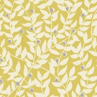 ideco home ola yellow leaf mica wallpaper