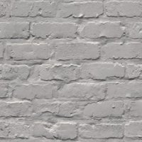 gold grey brick matt wallpaper