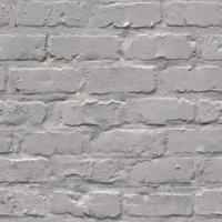 gold grey brick matt wallpaper