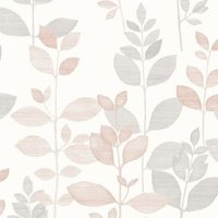 gold fin pink organic mica shine wallpaper