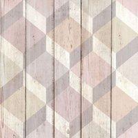gold copenhagen pink scandi matt wallpaper
