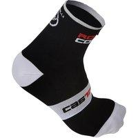 Castelli Rosso Corsa Sock 9cm SS17