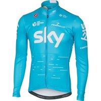 Castelli Team Sky LS Thermal Jersey 2017