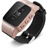 GPS Tracker Watch Bracelet for Elderly Mobile App Google Map Call Button Take-off alarm GSM GPRS Tracker
