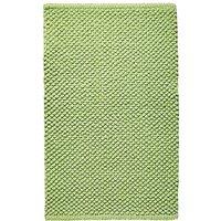 Cotton Bobble Bath Mats - Leaf Green