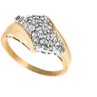 9ct Gold 0.33ct Baguette Diamond Ring