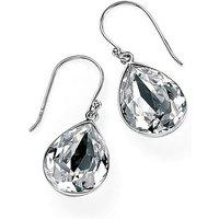 Teardrop Swarovski Crystal Drop Earrings