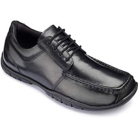 Boys Lace School Shoes Wide Fit