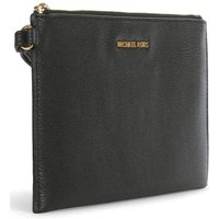 Michael Kors Black Leather Clutch Bag
