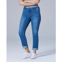 Jade Supersoft Boyfriend Jeans Short
