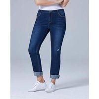 Jade Supersoft Boyfriend Jeans Long