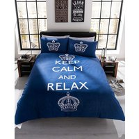 Keep Calm and Relax Duvet Cover Set
