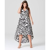 Lovedrobe Tropical Print Dress
