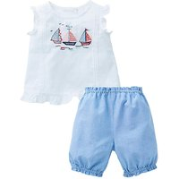 KD Baby Girl Blouse and Bloomer Set