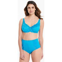 Ruby Reef Blue Minimiser Bra