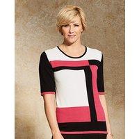 Slimma Colour Block Sweater