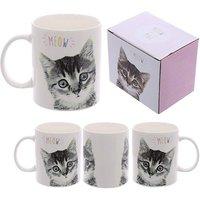 New Bone China Mug - Kitten MEOW